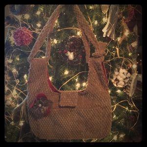 Boho Crossbody / Shoulder Bag. Two in one bag.